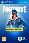 86% Korting Fortnite Bomber Skin + 500 V-Bucks PS4 voor €11,79 bij CDKeys