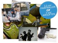 95% Korting Paintball of Airsoft Voucher bij iBOOD