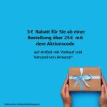 €5 Kortingscode voor bestelling boven €25 bij Amazon.de