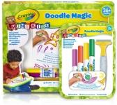 Crayola Doodle Magic draagbare tekentafel (+gratis accesoires) voor €7,99 bij Bol.com