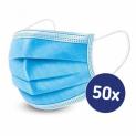 56% Korting 3-Laags Mondkapjes set van 50 stuks voor €39,99 bij Koopjedeal
