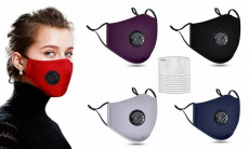 Herbruikbare mondmaskers met filters voor €7,99 bij Groupon
