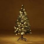 73% Korting Kunstkerstboom met 120 LED Lampjes voor €39,99 bij Koopjedeal