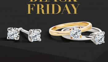 25% Korting op sieraden en 20% op horloges tijdens Black Friday weekend bij Siebel Juweliers