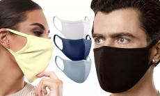 Wasbare en Herbruikbare Kleuren mondkapjes voor €3,99 bij Groupon