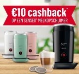 €10 Cashback Philips Senseo bij Senseo
