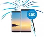 €50 Cashback Galaxy S8, S8+ of Note8 bij Samsung