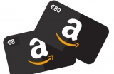 Gratis €8 tegoed met €80 opwaarderen bij Amazon.de