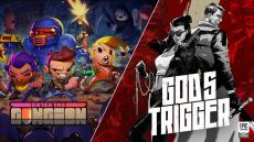 Gratis 2 PC Games Enter the Gungeon en God's Trigger t.w.v. €29,98 bij Epic Games
