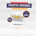 Gratis All seaons dekbed t.w.v. €139,85 bij Dekbed Discounter