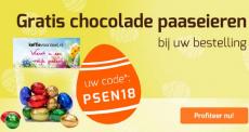 Gratis chocolade paaseieren met de kortingscode bij Koffievoordeel