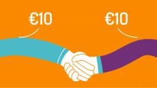 Gratis €10 tegoed met VriendenDeal bij Simyo