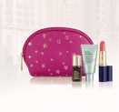 Gratis Estée Lauder Make-up pouch met 3 miniaturen + 25% Korting op Estée Lauder producten bij Douglas