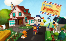 Gratis Game Dr. Panda Postbode t.w.v €4,49 bij Google Play en Apple App Store