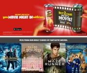 Gratis Google Play Films of 24 uur Sky sport pas bij Pringles