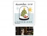 Gratis kaarthouder bij Decemberzegels bij PostNL