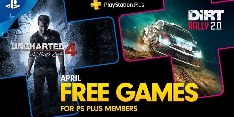 Gratis maandelijkse PS Plus games april 2020 bij Playstation Store