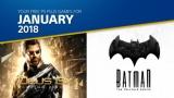 Gratis Maandelijkse PS Plus Games voor januari 2018 bij Playstation Store