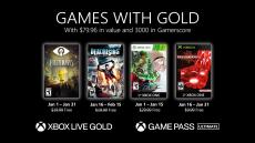 Gratis Maandelijkse Xbox Live Games with Gold Line-up januari 2021 bij Microsoft
