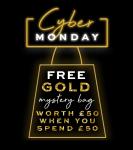 Gratis Mystery Bag t.w.v £50/ €58 met Cyber Monday bij Revolution Beauty