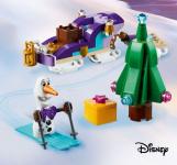 GRATIS Olafs reisslee bestelling boven €50 bij LEGO