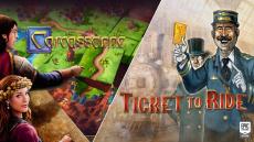 Gratis PC 2 Games Carcassonne + Ticket to Ride t.w.v. €19,98 bij Epic Games