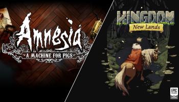 Gratis PC / Mac Games Amnesia: A Machine for Pigs + Kingdom New Lands t.w.v. €30,98 bij Epic Games