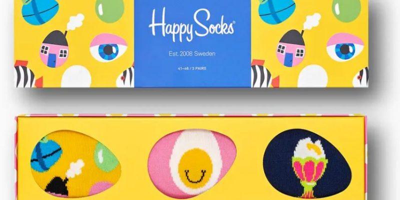 Gratis verzending tijdens Pasen bij Happy Socks
