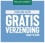 Gratis verzending vanaf €10 bij Holland & Barrett