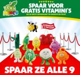 Gratis VitaMini's Pluche Knuffels met Spaaractie bij Lidl