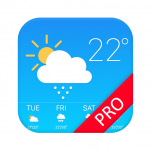 Gratis Weather Forecast Pro t.w.v €4,29 bij Google Play