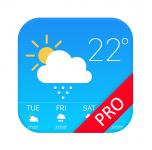 Gratis Weather Forecast Pro t.w.v €4,29 bij Google Play