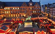 44% Korting Kerstshoppen in Düsseldorf incl. verblijf in luxe Hilton hotel voor €49,50 bij D-deals
