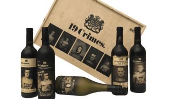 15% Kortingscode voor  19 Crimes in een luxe houten kist voor 57,96 bij Wijnbroeders