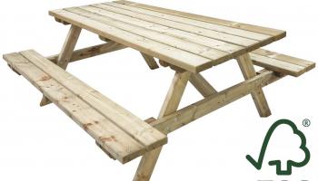 44% Korting Tierra Outdoor Picknicktafel bij iBOOD