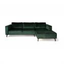 4×6 Sofa X5 Velours Hoekbank Rechts – Groen