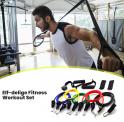 79% Korting Fitness Elastiek Set + GRATIS Opbergtas & Deuranker voor €14,99 bij GroupDeal