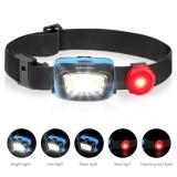 75% korting op Albrillo super heldere LED hoofdlamp voor €4,99 bij Amazon.de