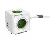 62% Korting 2x Allocacoc PowerCubes Extended Stekkerblok 1,5 m bij iBOOD