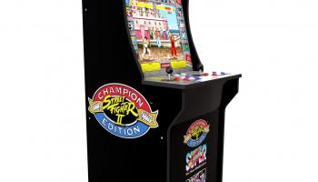 €100 Korting Arcade1UP Streetfighter II Arcadekast voor €299,99 bij Intertoys