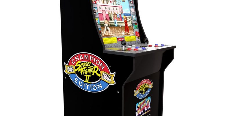 €100 Korting Arcade1UP Streetfighter II Arcadekast voor €299,99 bij Intertoys