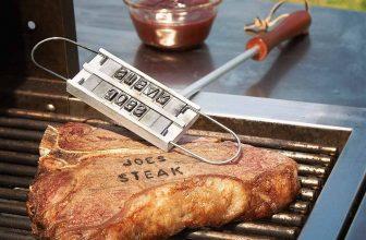 57% Korting BBQ Branding Iron Brandstempel voor €10,95 bij DealWizard