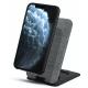 BeHello Staande Wireless Qi Charger Draadloze Snel Qi Oplader met 10 Watt – Grijs