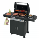 Campingaz 3 Series Classic LS Plus Black Gasbarbecue met 3 Branders en 1 Zijbrander – Zwart
