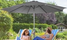 65% Korting Luxe parasol van 3 meter voor €34,99 bij Groupon
