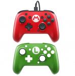57% Korting DPD Nintendo Switch Faceoff Deluxe Wired Pro Controller  Super Mario Editie voor €17,33 bij Amazon Frankrijk