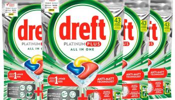 68% Korting 172x Dreft Platinum Plus Citroen Tabs bij iBOOD