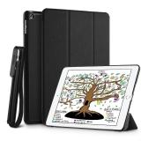 66% korting EasyAcc PU Leer iPad 9.7 Smart Cover Hoesje met Apple Pencil Houder voor €4,40 bij Amazon.de