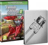 86% Korting Farming Simulator 17 Platinum Editie met Steelbox voor €5 bij Bol