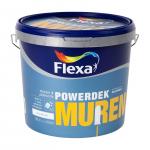 50% korting op 10 liter Flexa Powerdek Muurverf met Donderdagdeal voor €32 bij Bol.com
